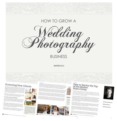 How To Grow a Wedding Photography Business