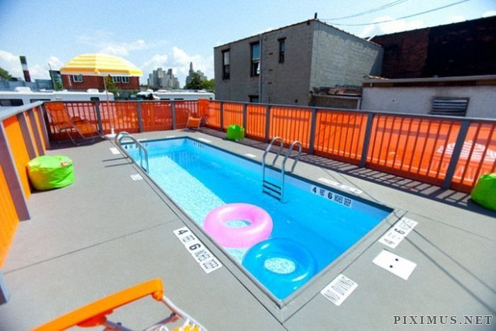 Shipping Container Swimming Pool Shipping Container