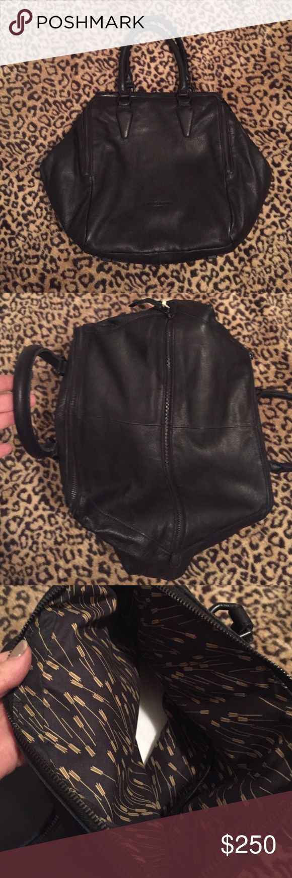 "New Liebeskind Berlin Kayla E vintage bag - Black Brand new with tags.                                                Double top handles, 6.7"" drop Two outside zip compartments Center compartment Three inside pockets Fully lined Includes dust bag 12.6""W X 19.7""H X 7.5""D Leather Liebeskind Bags Satchels"