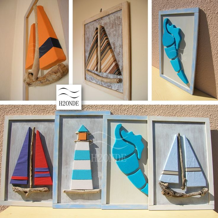 Driftwood framed sailboat wall art decor modern 3d beach original wood coastal shabby ocean hanging cottage office gift decoration nautical room seashell shell lighthouse farmhouse decor beach house decor picture wooden art shabby chic turquoise natural neutral colors Quadro faro legno mare decorazione parete muro shabby arredo moderno sala studio camera arredamento vendita ufficio marino nautico ingresso barca a vela blu jeans arancio colore bianco cornice h2onde casa lusso sale stile…