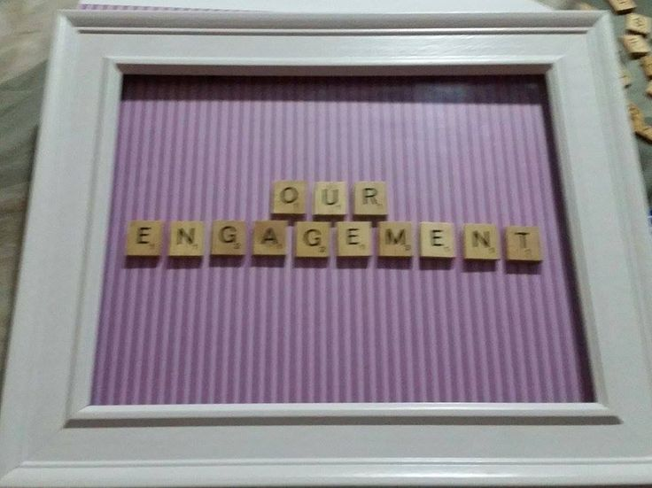 Our Engagement Scrabble Word Art Website: www.purplebutterflydesigns42.weebly.com Facebook: www.facebook.com/purplebutterflydesigns90 Instagram: www.instagram.com/purplebutterflydesigns