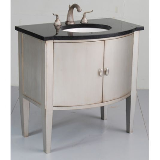 Ambella Home Sterling Bowfront Sink Chest