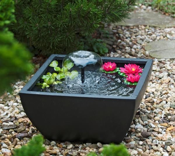 Die besten 25 springbrunnen garten ideen auf pinterest springbrunnen brunnen bauen und einen - Zierbrunnen selber bauen ...