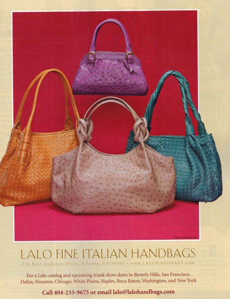 Lalo Handbags 2013