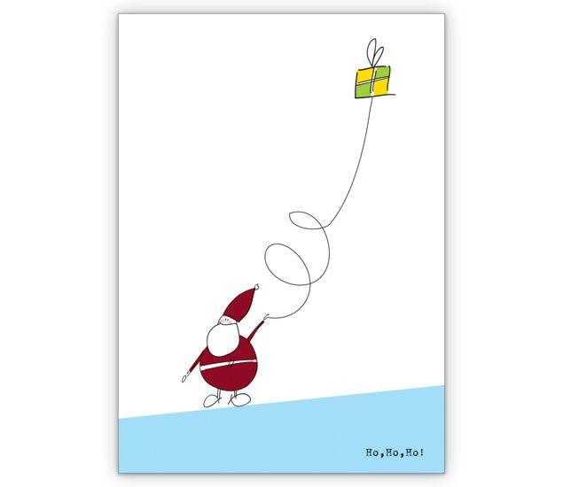 fröhliche Nikolaus Weihnachtskarte mit Geschenken - http://www.1agrusskarten.de/shop/frohliche-nikolaus-weihnachtskarte-mit-geschenken/    00012_0_577, 24.12., Geschenk, Glückwunschkarten, Grußkarte, Heilgabend, Helga Bühler, Klappkarte, Nikolaus, Weihnachtskarte, Weihnachtskarten00012_0_577, 24.12., Geschenk, Glückwunschkarten, Grußkarte, Heilgabend, Helga Bühler, Klappkarte, Nikolaus, Weihnachtskarte, Weihnachtskarten