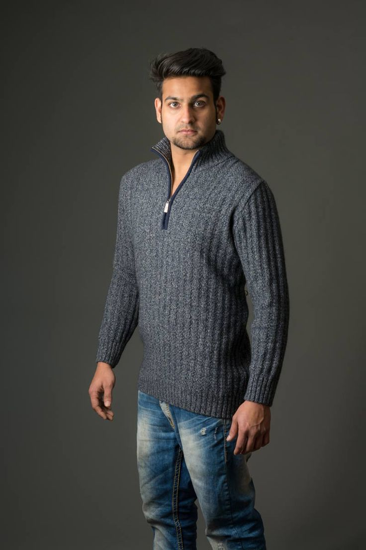 This is a great light-weight every-day ribbed texture jumper with a half zip so you can regulate your body temperature and vent a bit of extra heat away. Throw this over a t-shirt for casual weekend style and convenience or the half zip works well over a work shirt as well. Available in two great colours from Gorgeous Creatures.