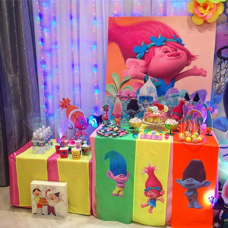 troll party decor  kids birthdayparty