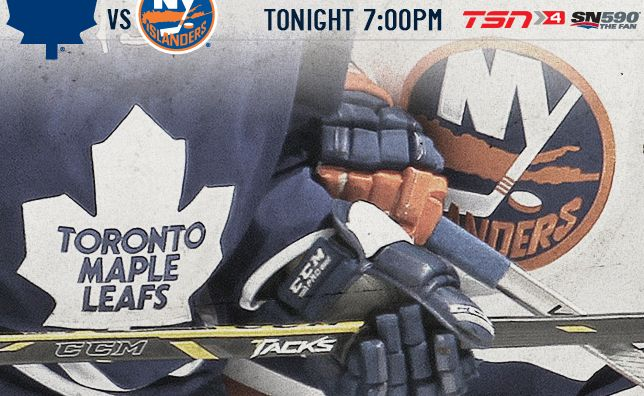 Game Journal: Game 35 - Islanders vs. Maple Leafs - Toronto Maple Leafs - News