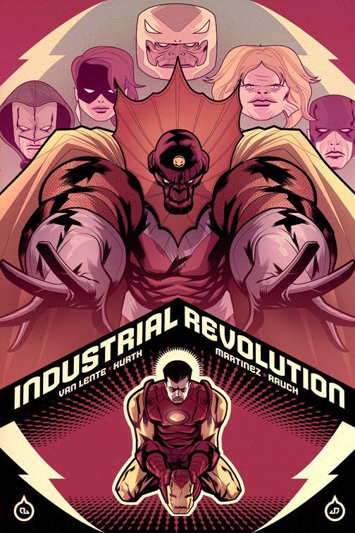 Marvel Comics Cover Art