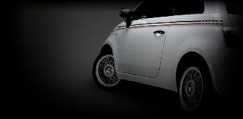Fiat 500 with Borrani S-Ray wire wheels