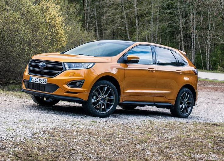 Wallpapers Ford Edge 2018 4k New Yellow Suv American Cars Pinterest And Car