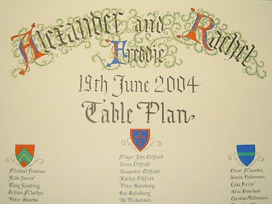 Best Wedding Table Plans Images On   Wedding Table