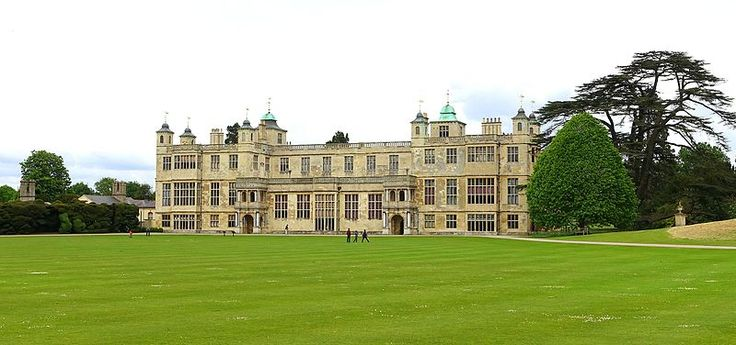 Audley End House-Essex, England-2016.Audley End was the site of Walden Abbey,a Benedictine monastery that was granted to the Lord Chancellor Sir Thomas Audley in 1538 by Henry VIII.The abbey was converted to a domestic house for him and was known as Audley Inn.It was demolished by his grandson, Thomas Howard (first Earl of Suffolk,fourth creation,and Lord Treasurer),and a much grander mansion was built, primarily for entertaining the king,James I.