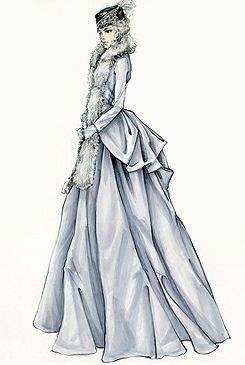 Jacqueline Durrancostumes from Anna Karenina