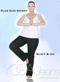 Plus Size Yoga Jeans @ Lousje & Bean Boutique