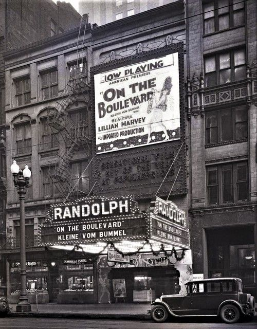 The Randolph Theater - 14-16 West Randolph Street, Chicago, IL 60601