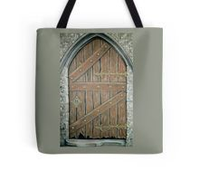 Tote Bag,  brown,cool,beautiful,fancy,unique,trendy,artistic,awesome,fahionable,unusual,accessories,for,sale,design,items,products,gifts,presents,ideas,town,old,buildings,wooden,door