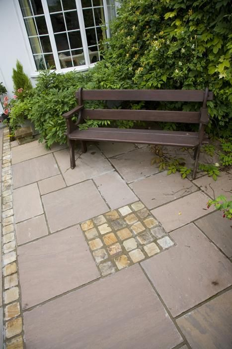 98 best paving stepping stones paths images on pinterest for Garden paving designs