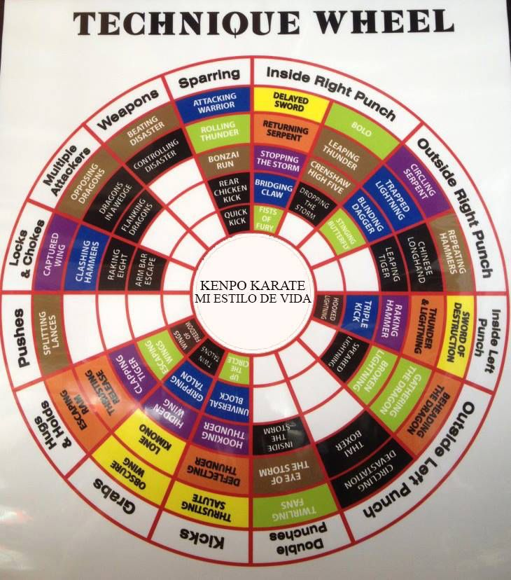 76 Best Kenpo Charts Images On Pinterest Charts Graphics And