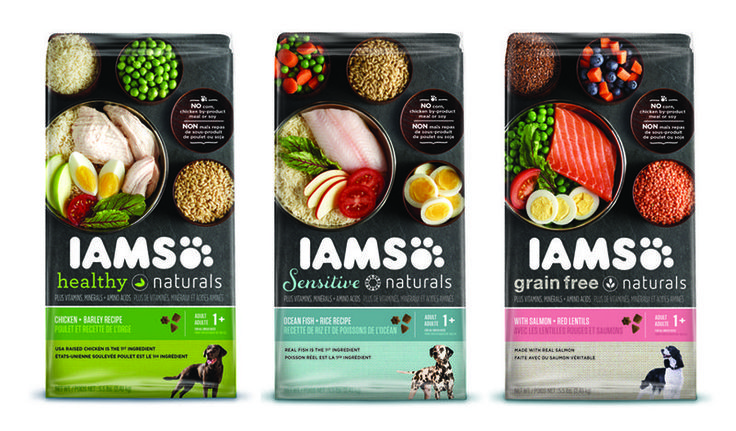 Iams Healthy Naturals Pet Food Packaging Lays Out All Its Ingredients #pets #petfood trendhunter.com