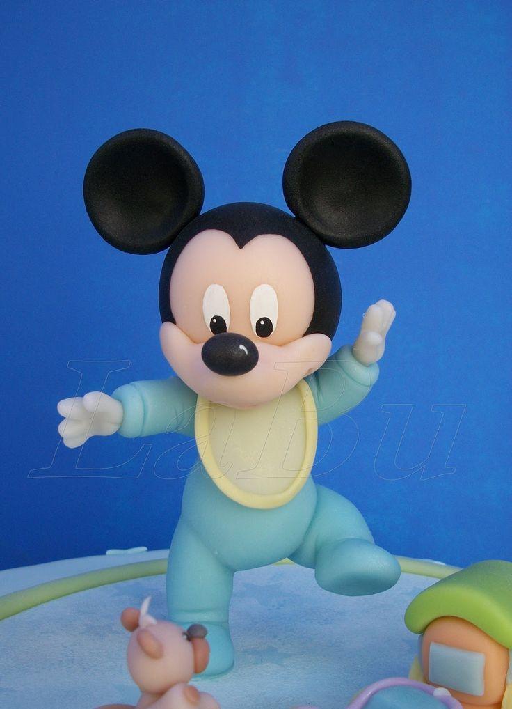 mini mouse bebe en porcelana fria - Buscar con Google
