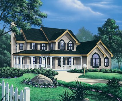 17 best images about farmhouse home plans on pinterest for Spacious house plans