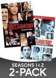 Grey's Anatomy: Seasons 1 and 2 [8 Discs] [DVD]
