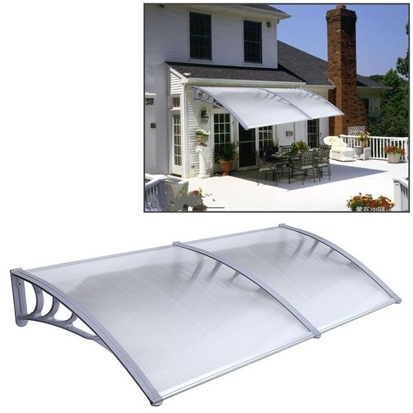 Door Canopy Awning Shelter Porch Front Rain Roof Back Patio ... on house eaves design, house driveway design, house wall design, house deck design, house courtyard design, house balcony design, house terrace design, house vinyl design, house window awnings, house grill design, house turret design, house roofing design, house skylight design, house column design, house facade design, house veranda design, house plumbing design, windows house design, house door design, house truss design,