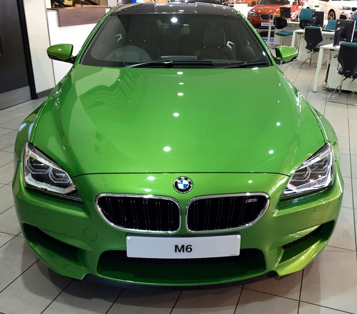 Bmw M6: BMW M6 Individual, Java Green