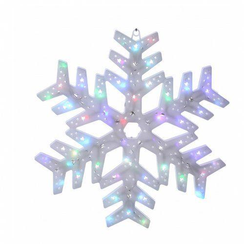 Luce fiocco neve 50 led colorati interno esterno vendita for Vendita led online