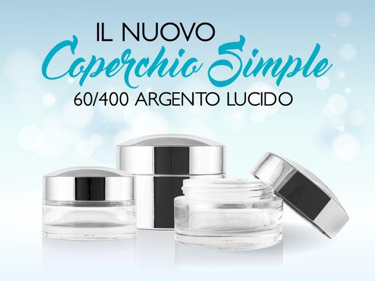 #Convex or #Flat ? Scopri il nuovo Coperchio Simple 60/400 argento lucido!