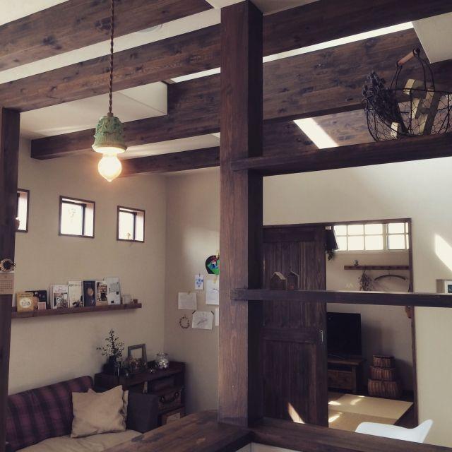 chikukoさんの、古道具,植物,珪藻土壁,雑貨,アンティーク,古家具,DIY,Overview,のお部屋写真