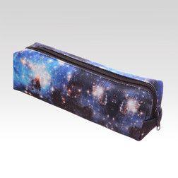 Školní penál Galaxy modrý