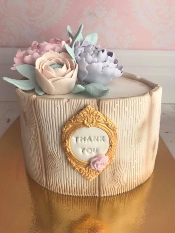 Thankyou Cake Korean Buttercream Flower Special Occasion Cakes