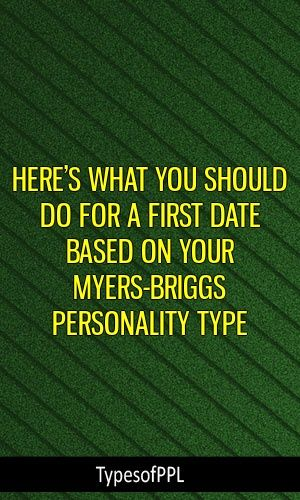 dating based on personality type