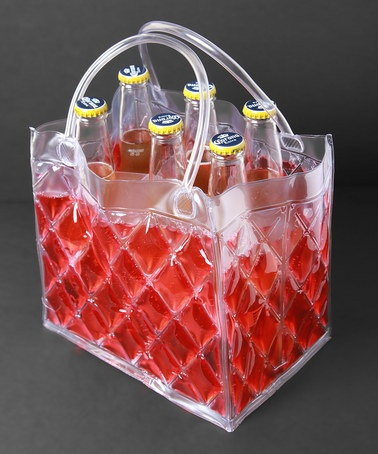 Take a look at this Red Six-Pack Insulated Beverage Carrier by Cool Sack on #zulily today! $10.99