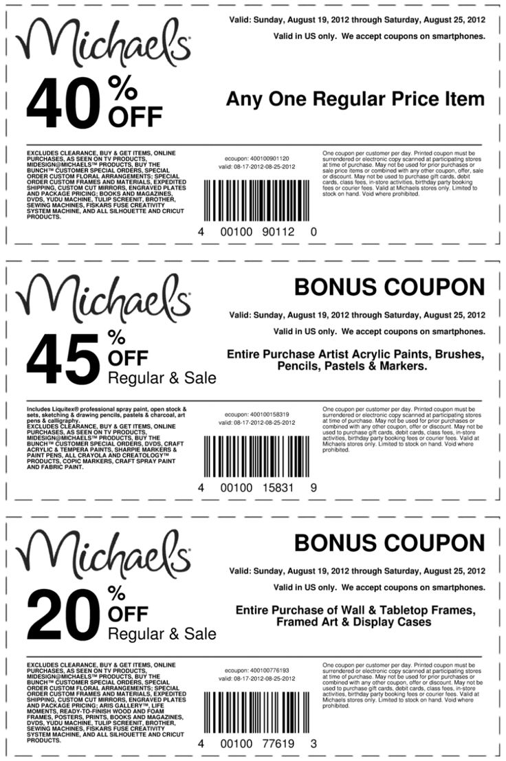 Hobby lobby coupon 40 off entire purchase - 40 Off A Single Item And More At Michaels Crafts Coupon Via The Coupons App