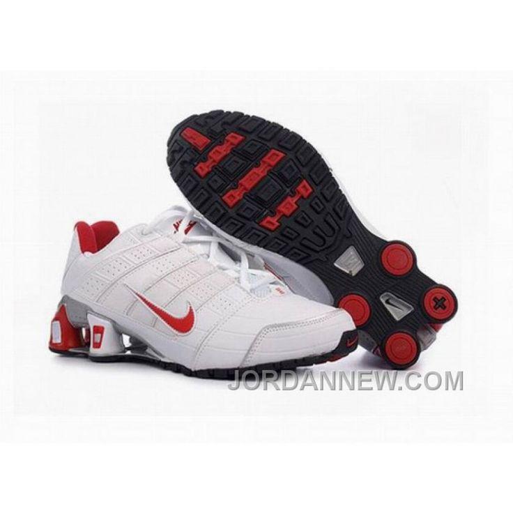 Women's Nike Shox NZ Shoes White/Red/Grey Discount, Price: $77.16 - Air Jordan Shoes, Michael Jordan Shoes - JordanNew.com