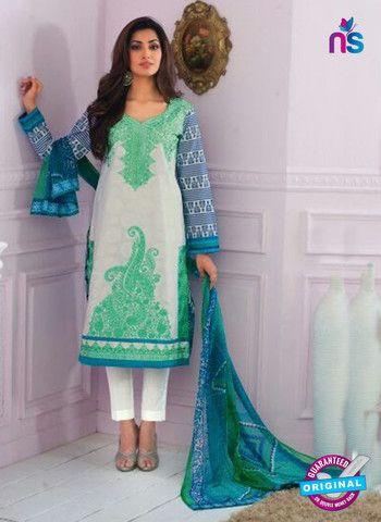 Rivaa14703B - Pink & White Color Cotton Designer Suit