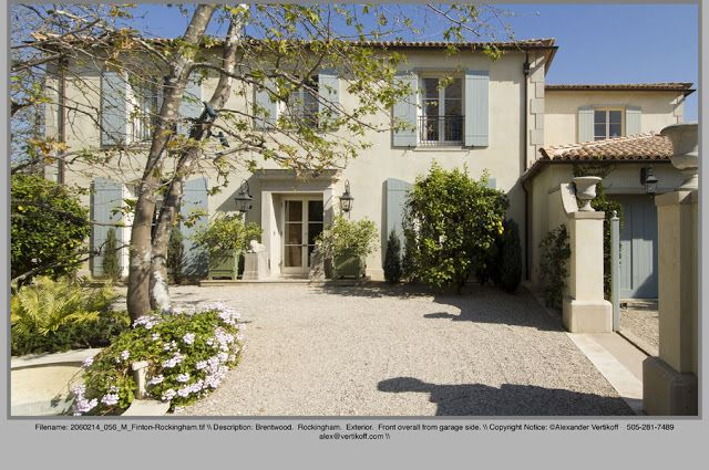 Peonies and Orange Blossoms: The Colors of Provence - What Color to Paint the House??