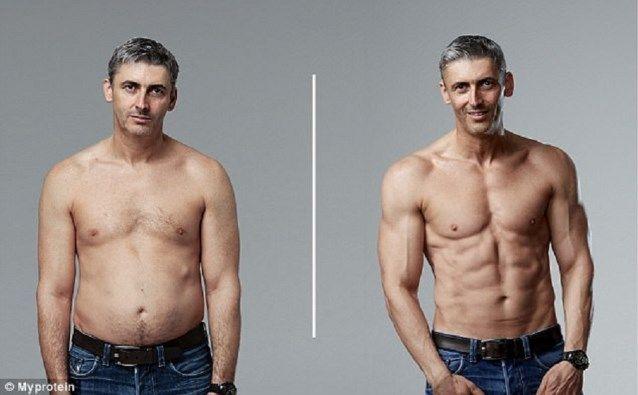 Deze Papa Met Een Buikje Toont Hoe Hij Een Goddelijk Lichaam Kreeg In Amper 12 Weken Training Lichaam Body Fitness Fitness Transformatie