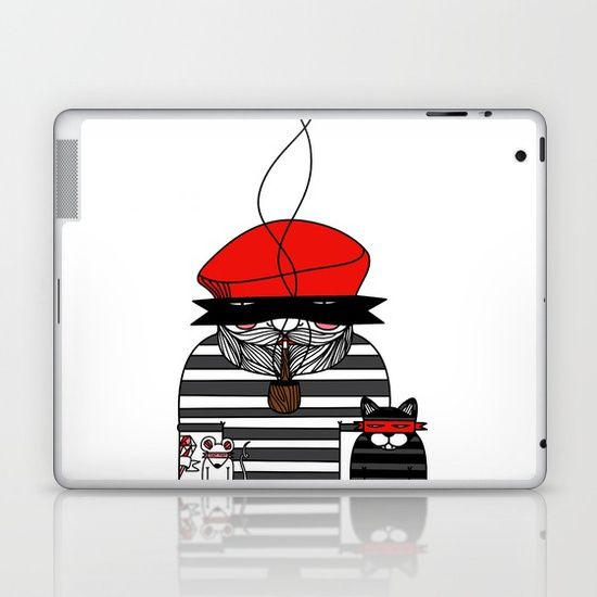 Diamonds are for boys too... Laptop & iPad Skin