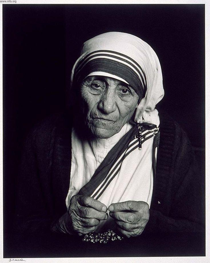 Mother Teresa by Yousuf Karsh
