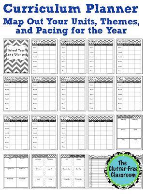 http://clutterfreeclassroom.blogspot.com/2014/07/curriculum-planner-editable-pacing-guide.html