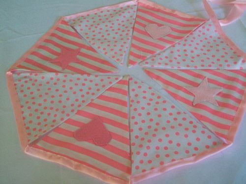 Pink stripe and spot