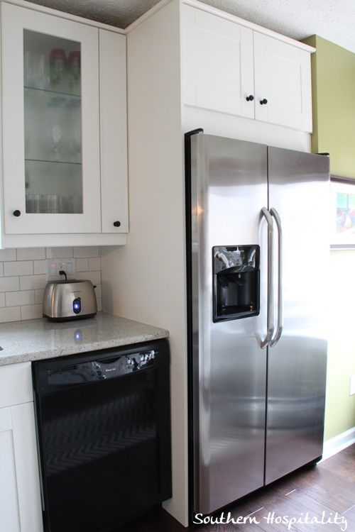 Kitchen Cabinets Around Fridge best 25+ refrigerator cabinet ideas on pinterest | kitchen
