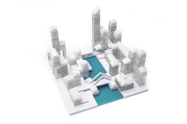 Идёт сбор средств на набор для архитектурного моделирования