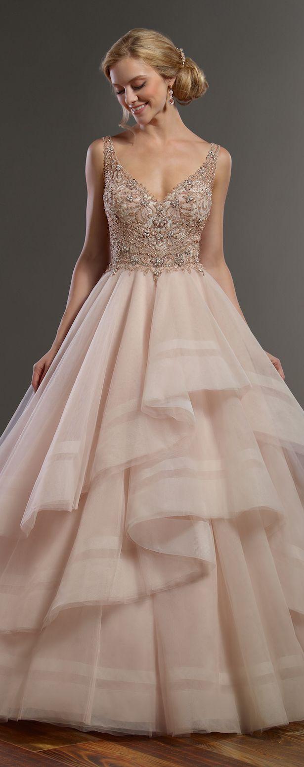 Wedding Dress by Martina Liana Spring 2017 Bridal Collection