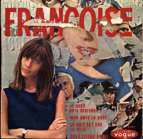 FH: Françoi Hardy, Françoise Hardy, Francois Hardy Hair, Hardy Vinyls, Comic Books, Bangs, Francoise Hardy, La Rose, Mon Amy