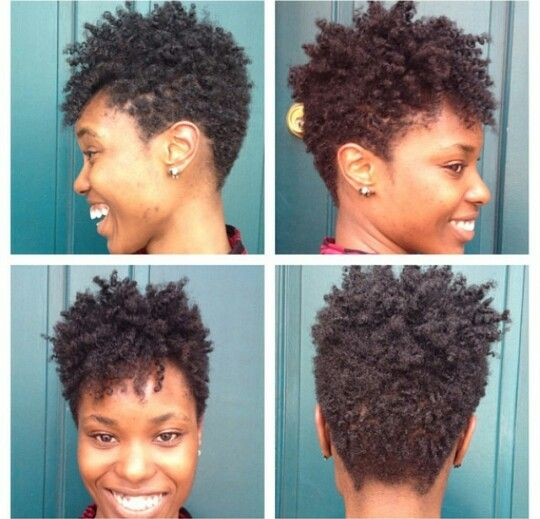 Short Cut Hairstyles For Natural Hair